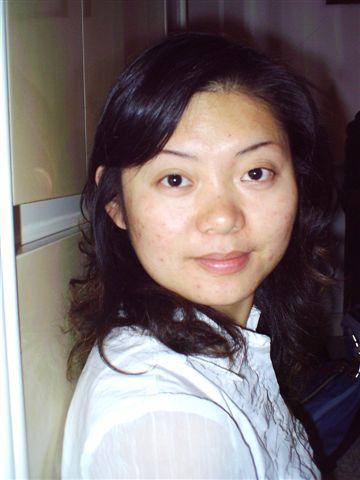 Wendy, Peng's wife. Wendy is a sweetheart, and love's Bible study. She also has a heart for missions. She's currently working with a Boston travel agency. Peng was away this Sunday on business training in NJ.